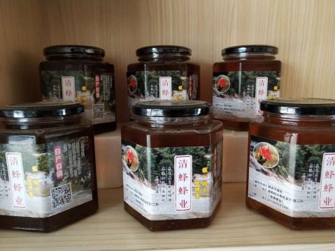 青松乡清蜂蜂蜜2斤装